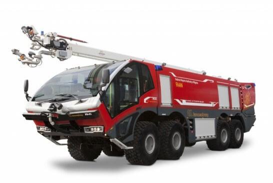 Diverse delen voor speciale brandweerwagens